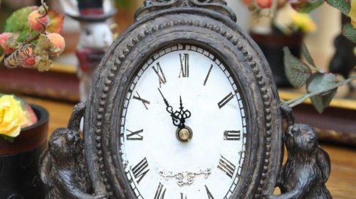 Настенные часы для интерьера в стиле Прованс
